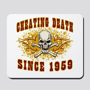 Cheating Death 1959 Mousepad