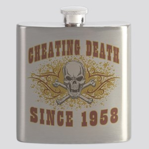 Cheating Death 1958 Flask