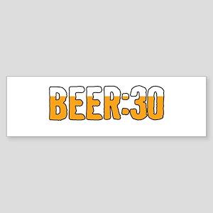 Beer Thirty Bumper Sticker