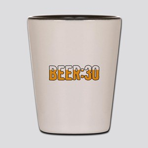 Beer Thirty Shot Glass