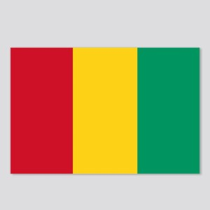 Guinea Flag Postcards (Package of 8)