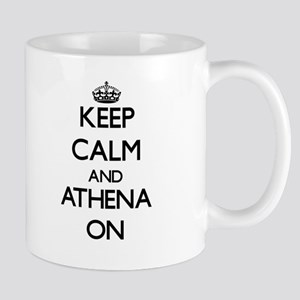 Keep Calm and Athena ON Mugs