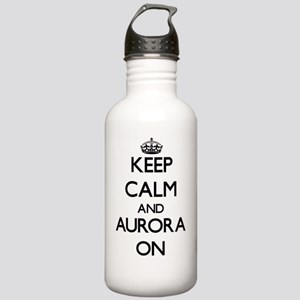 Keep Calm and Aurora O Stainless Water Bottle 1.0L