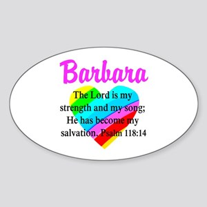 PSALM 118:14 VERSE Sticker (Oval)