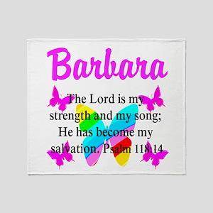 PSALM 118:14 VERSE Throw Blanket