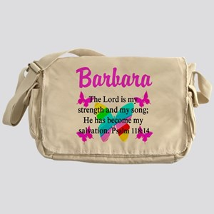 PSALM 118:14 VERSE Messenger Bag