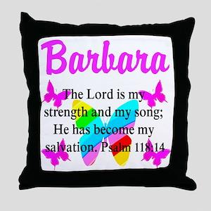 PSALM 118:14 VERSE Throw Pillow