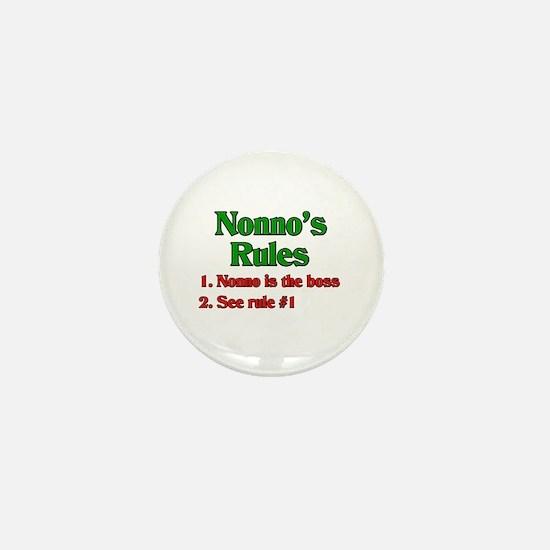 Nonno's Rules Mini Button