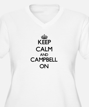 Keep Calm and Campbell ON Plus Size T-Shirt