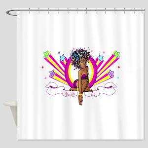 Nach-Ro Starz Shower Curtain