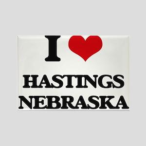 I love Hastings Nebraska Magnets