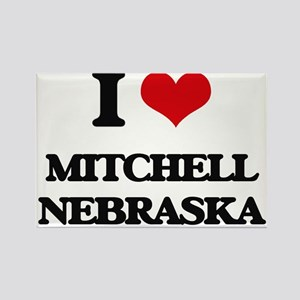 I love Mitchell Nebraska Magnets