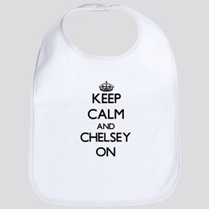 Keep Calm and Chelsey ON Bib