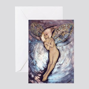 Nocturn Fairy Greeting Card