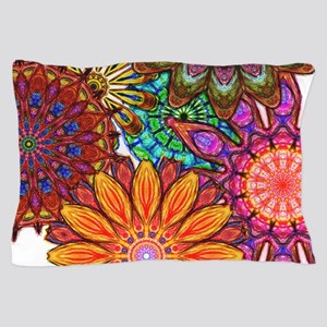 Funky Flowers Pillow Case