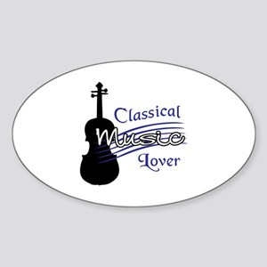 CLASSICAL MUSIC LOVER Sticker