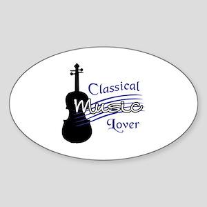 CLASSICAL MUSIC LOVER Sticker