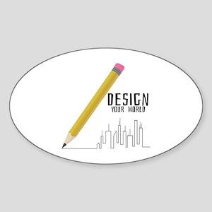 Design Your World Sticker