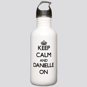 Keep Calm and Danielle Stainless Water Bottle 1.0L