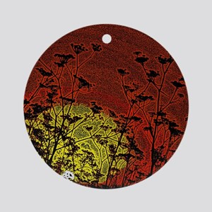 Bloody Sunrise Ornament (Round)