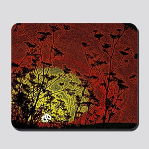 Bloody Sunrise Mousepad