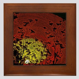 Bloody Sunrise Framed Tile