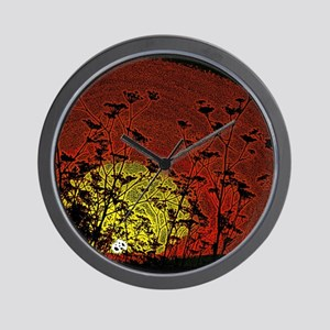Bloody Sunrise Wall Clock