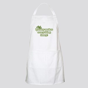 Parsley Makes Everything Fancy BBQ Apron
