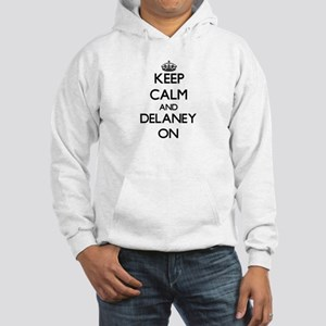 Keep Calm and Delaney ON Hooded Sweatshirt