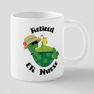 Retired ER Nurse Gift Mugs
