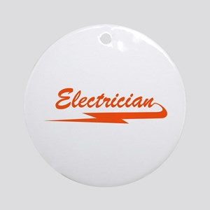 ELECTRICIAN Ornament (Round)