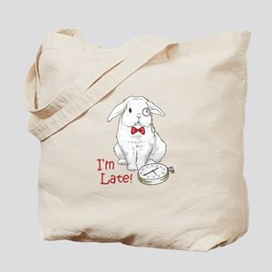 IM LATE Tote Bag