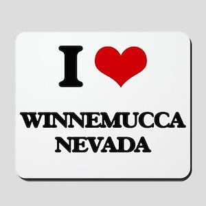 I love Winnemucca Nevada Mousepad