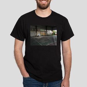 Basketball Court Art T-Shirt