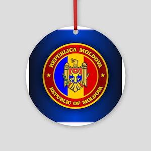 Moldova Medallion Ornament (Round)