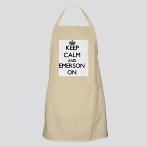 Keep Calm and Emerson ON Apron
