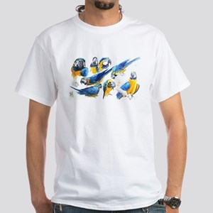 Blue and Gold Macaw T-Shirt
