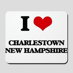 I love Charlestown New Hampshire Mousepad