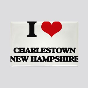 I love Charlestown New Hampshire Magnets