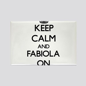 Keep Calm and Fabiola ON Magnets