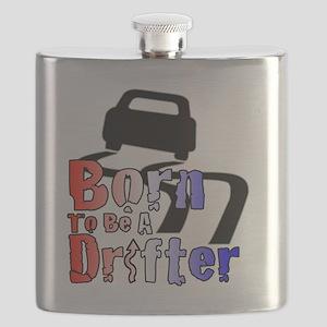 Born To Drift Flask