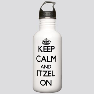 Keep Calm and Itzel ON Stainless Water Bottle 1.0L