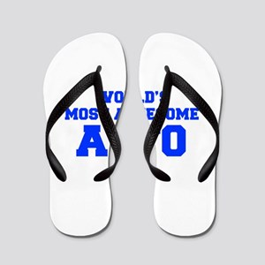 WORLD'S MOST AWESOME Alto-Fre blue 600 Flip Flops