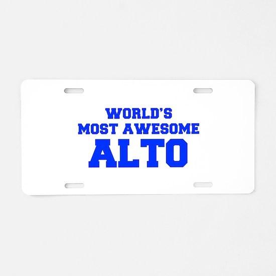WORLD'S MOST AWESOME Alto-Fre blue 600 Aluminum Li