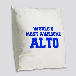 WORLD'S MOST AWESOME Alto-Fre blue 600 Burlap Thro
