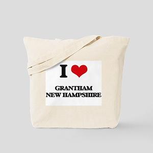 I love Grantham New Hampshire Tote Bag