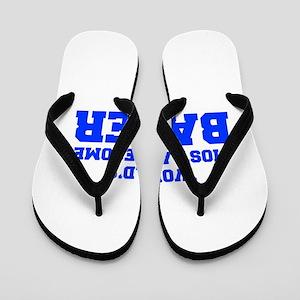 WORLD'S MOST AWESOME Baker-Fre blue 600 Flip Flops