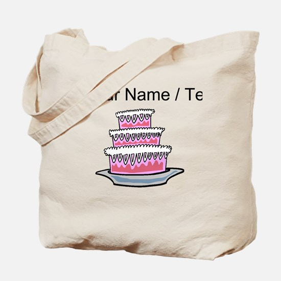 Three Layer Cake (Custom) Tote Bag
