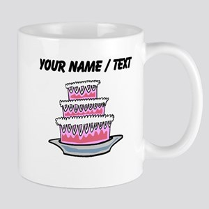Three Layer Cake (Custom) Mugs
