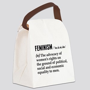 Feminism Noun Canvas Lunch Bag